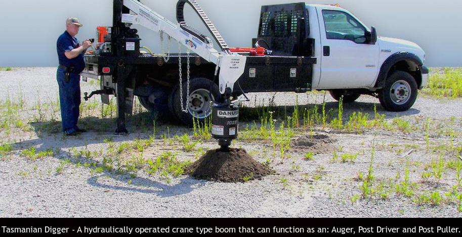 equipment that works Tasmanian Digger